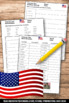 Veterans Day Worksheets, Veterans Day Word Search, November Writing Activities