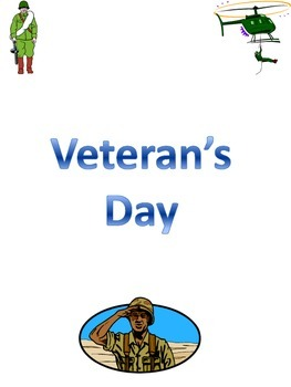 Veteran's Day Activity Packet