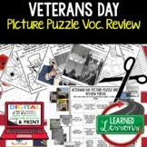 Veterans Day Activity, Veterans Day Picture Puzzle