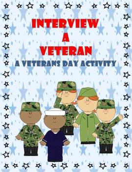 Veterans Day Activity and Reflection