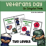 Veterans Day- Adapted Book