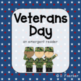 Veterans Day: An Emergent Reader with Sight Words In and The