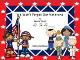 Veteran's Day Anthem/We Won't Forget/ Elementary Choral