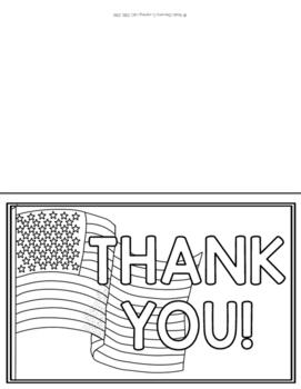 Veteran's Day Appreciation Writing Activity