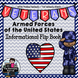Armed Forces Informational Flip Book {Great for Veterans'