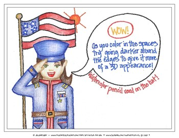 Veterans Day Art, Getting the Best Work from your Students, Hero Clip Art