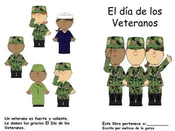 Veterans Day Book Spanish Version
