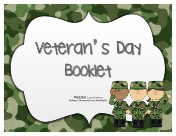 Veteran's Day - Booklet