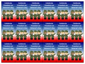 Veteran's Day Brag Tags