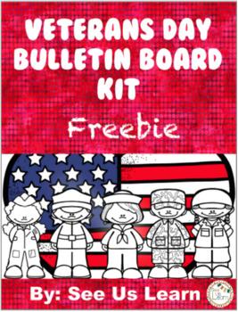 Veterans Day Bulletin Board Kit