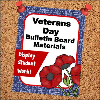 Veterans Day Bulletin Board Materials