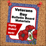 Veterans Day Bulletin Board Materials