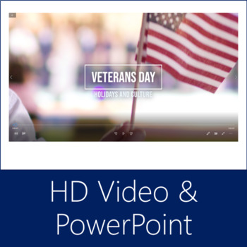 Veterans Day Bundle (Reading, Video, PowerPoint, Quizzes, Lessons)