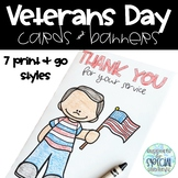Veterans Day Cards and Banners