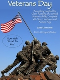 Veterans Day Informational Text