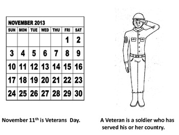 Veterans Day Coloring Book