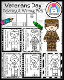 Veterans Day Thank You for Your Service Soldiers Coloring Pages Craft Pack