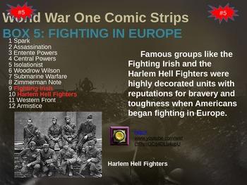 Veterans Day Comic Strip Activity