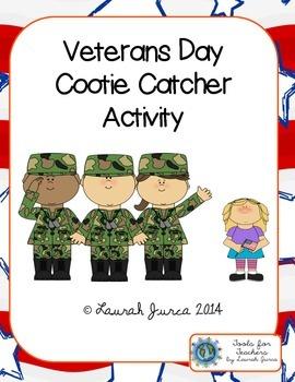 Veterans Day Cootie Catchers