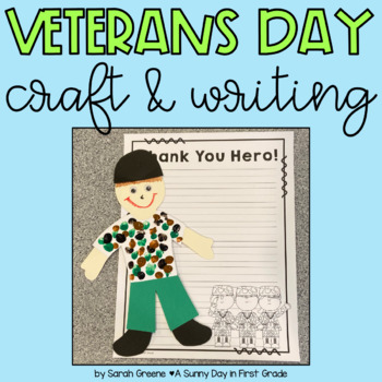 Veterans Day Craft & Writing