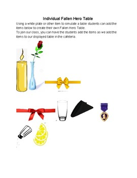 Veterans Day Craft & Display