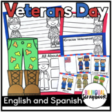 Veterans Day Craft (English and Spanish)