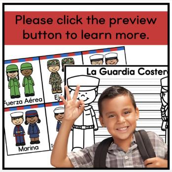 Veterans Day Craft (English and Spanish)