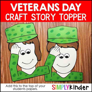 Veterans Day Craft Story Topper