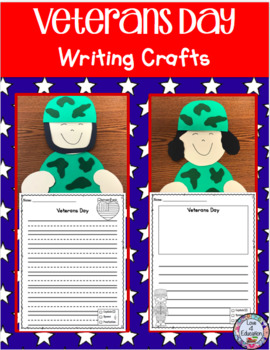 Veterans Day Craft and Writing