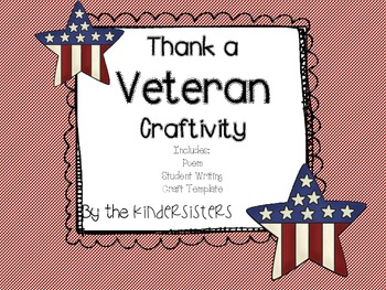 Veteran's Day Craftivity