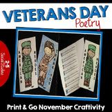 Veterans Day Craftivity {No Prep}