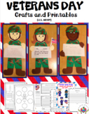 Veterans Day Craftivity & Printables (U.S. Army)