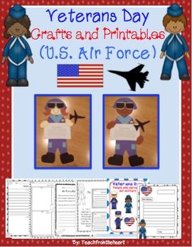Veterans Day Craftivity (U.S. Air Force)