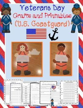 Veterans Day Craftivity (U.S. Coast Guard)