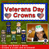 Veterans Day Activities : Crowns and Wristbands - Veterans Day Craft