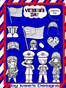 Veteran's Day Cute Bundle