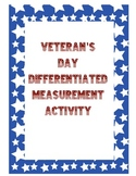 Veteran's Day Differentiated Measurement Activity