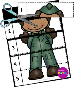 Veterans Day Differentiated Worksheets and Activities