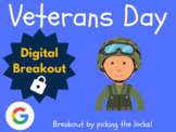 Veterans Day - Digital Breakout! (Escape Room, Scavenger Hunt, Brain Break)