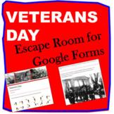 Veterans Day (Digital) Escape Room