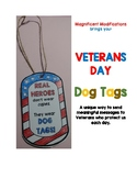 Veterans Day Dog Tag Necklaces