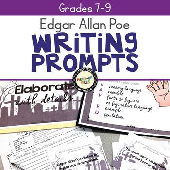 Edgar Allan Poe Writing Task Cards