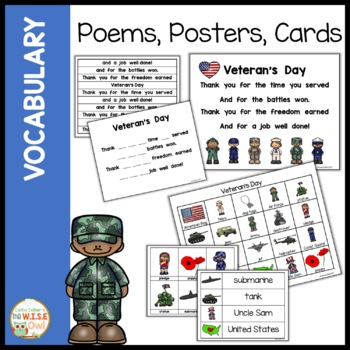 Veteran's Day for Early Learners