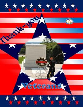 Veterans Day FREEBIE Coloring Sheet