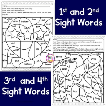 Veterans Day FREEBIE for Grades K-5, Sight Words and Read and Follow Directions