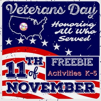 Veterans Day Activities FREE | Color Sight Words | Read Color Follow Directions