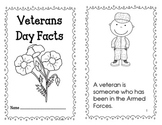 Veterans Day Fact Book, Adjectives Book, and Writing Poppy