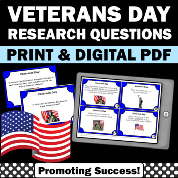 Veterans Day activities and games facts for kids