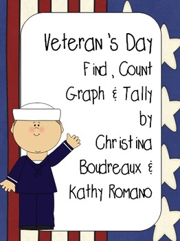 Veteran's Day Find, Count, Tally & Graph