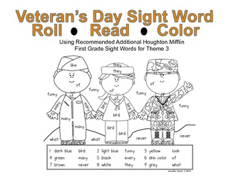 Veteran 39 s Day First Grade Sight
